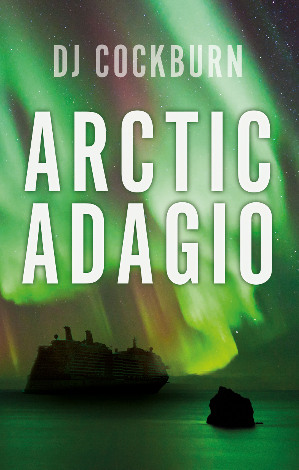 A cruise ship and the Northern Lights
