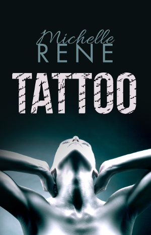 Tattoo book cover: stylized image of a young white woman