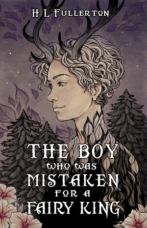 The cover shows a young man with antlers, in a forest