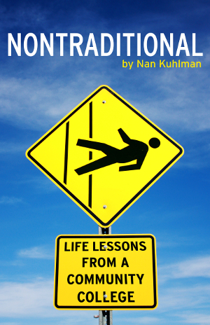 Nontraditional book cover